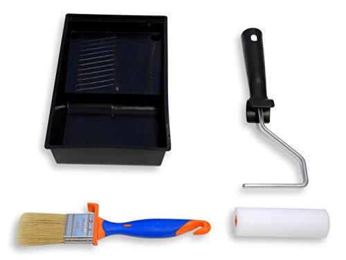 TECPINT KIT MUEBLES Mini Rodillo de Pintura con Cubeta y