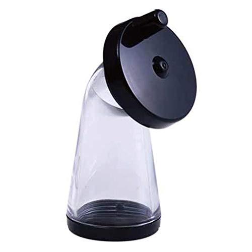 Molinillo de semillas de sésamo, ajustable manual molino de especias botella para moler sésamo o pequeños pellets (color al azar, blanco o negro)