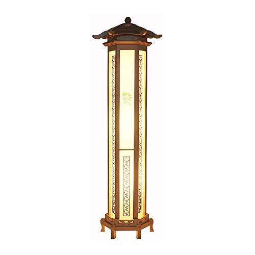 SXRKRZLB Lámparas de pie Lámpara de Cama Retro Sala de Estar Dormitorio decoración lámpara nórdica Minimalista Creativo Retro mesita de Noche lámpara