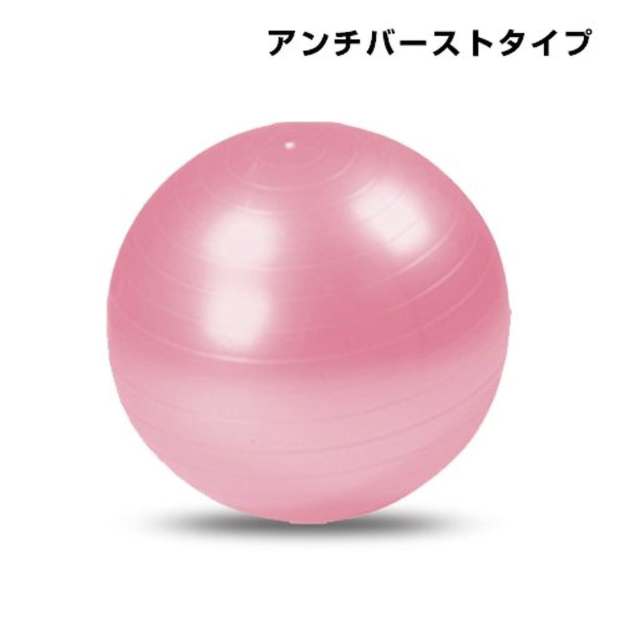 歪める合理的処方バランスボール 55cm (ポンプ付) 【ヨガボール フィットネスボール ジムボール】