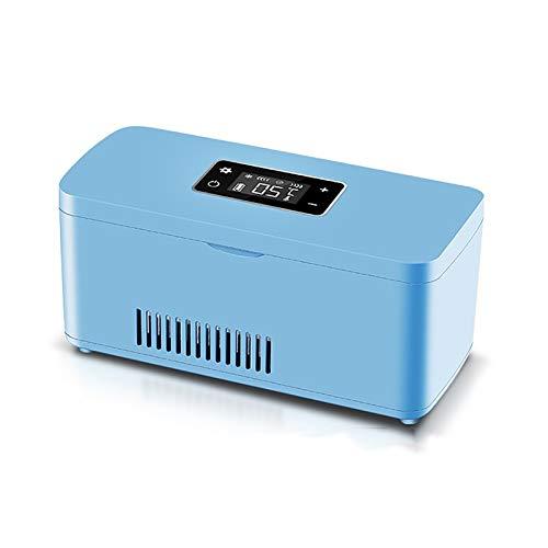 PEIHAN Frigo Portatile per insulina Frigo per farmaci Piccola Borsa da Viaggio per refrigerato per Mantenere Fresca l'insulina Frigo Mini frigoriferi per farmaci a Temperatura costante