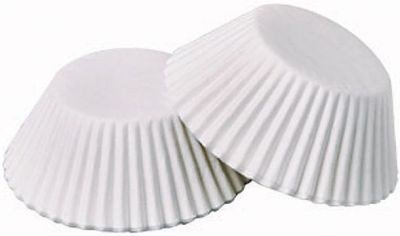 Back und Pralinenförmchen Ø 26 mm weiß 200 Stück
