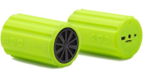 Jay-tech Mini Bike Bass K101 Lautsprecher (Stück) grün