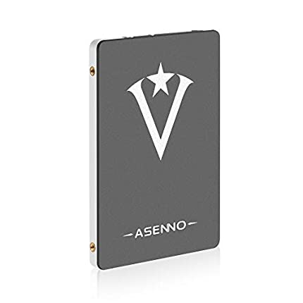 ASENNO 1TB 960GB 512GB 2,5 Pulgadas SSD con 1024 MB de Memoria SATAIII 6 GB/s de Disco Duro Interno de Estado sólido para Notebook Tablet PC de Escritorio