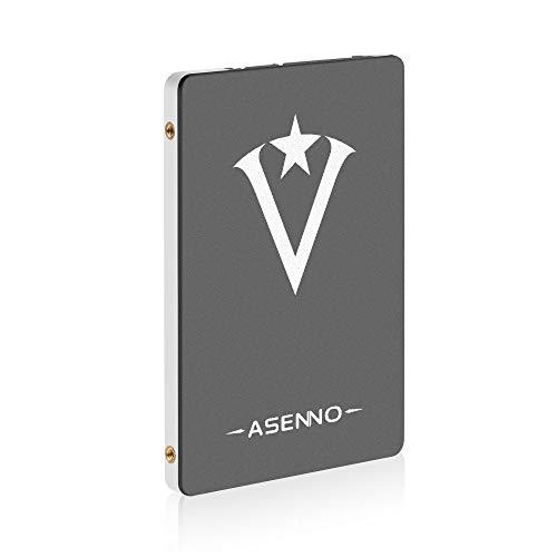 ASENNO 1TB 960GB 512GB 2,5 Pulgadas SSD con 1024 MB de Memoria SATAIII 6 GB s de Disco Duro Interno de Estado sólido para Notebook Tablet PC de Escritorio