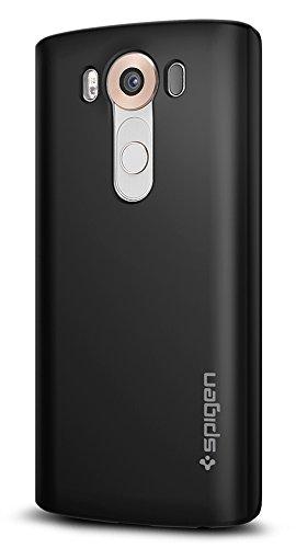 Spigen Thin Fit LG V10 Case with Premium Matte Finish Coating for LG V10 - Black