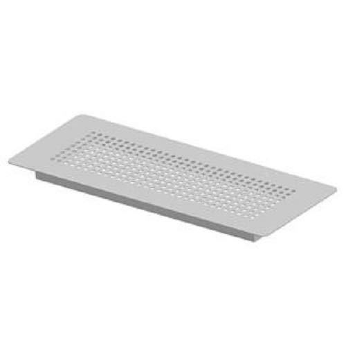 WOLF Bodengitter Metall weiß 2576175