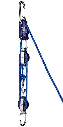 Tie Boss 3/8' Block and Tackle, Blue