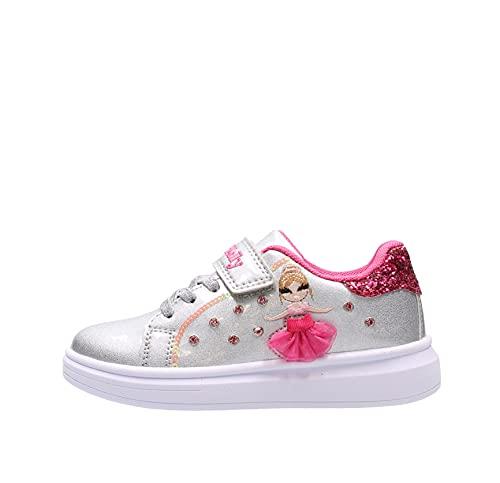 Lelli kelly MILLE STELLE Sneaker Argento da Bambino LK 4826-AH01