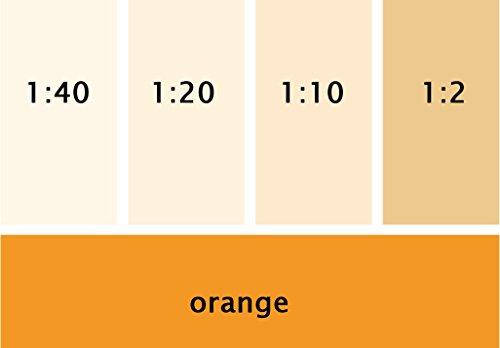 Silikat Vollton- & Abtönfarbe orange 250 ml