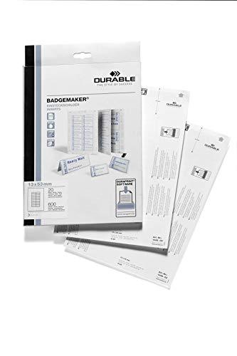 Preisvergleich Produktbild Durable 144902 Einsteckschilder Badgemaker (600 Schilder