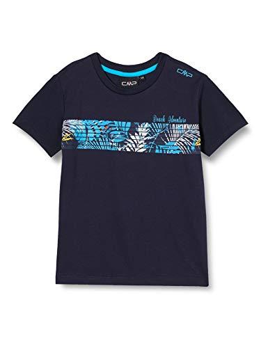 CMP 100% Cotton T-Shirt Garcon, Navy, 164