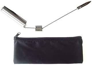 APCS dowsing rods divining rods energy detector brass healing silver plated aurameter