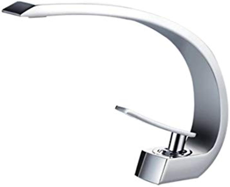 CZOOR Becken Wasserhahn Bad Mischbatterien Wasserfall Bad Mischbatterien Dusche Wasserhhne Bad Mischbatterie Deck montiert Wasserhhne