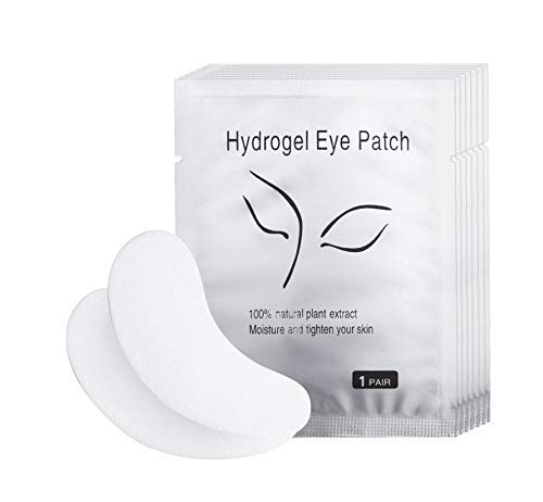 100 Pairs Eyelash Lash Extension Patch Under Eyes Gel Collagen Pads Lint Patches Eyelash Extension Pads Beauty Tool