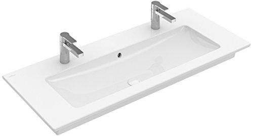 Villeroy&Boch Schrank Waschtisch Venticello 4104 1200x500mm ohne Hahnloch Eckig Stone White C+
