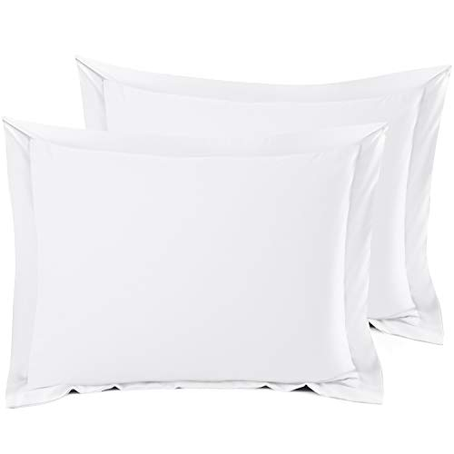 Best Price! Nestl Bedding Soft Pillow Shams - Double Brushed Microfiber Hypoallergenic Pillow Covers...