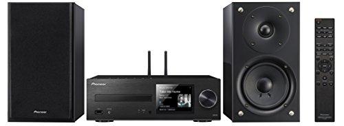 Pioneer X-HM76D-SB - Sistema Hight Micro (amplificadores Clase D y 50 x 2 vatios de Potencia, Radio Digital Dab, WiFi y Bluetooth)