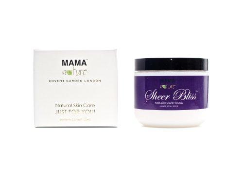 Mamá Naturaleza de Londres - un paraiso - Crema de Manos Natural - 100ml (UK Import)