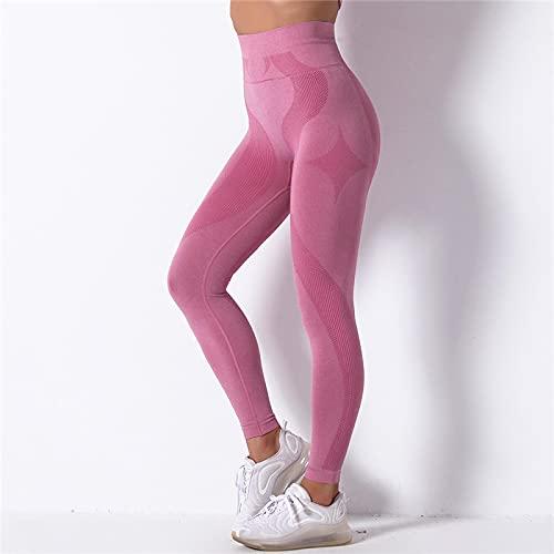 Astemdhj Leggings Pantalones Fitness Yoga Leggings De Mujer De Cintura Alta Leggings Deportivos Fitness Leggins Mujer Ropa Deportiva De Alta Elasticidad Pantalones Casuales Sin Costuras De