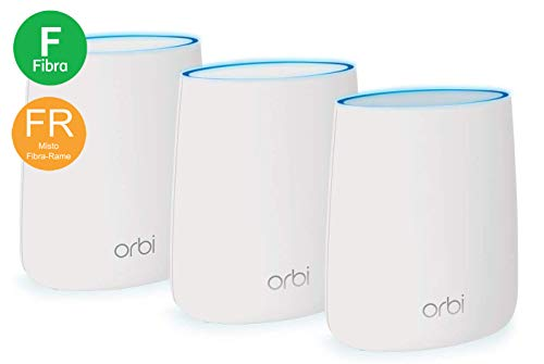 Netgear Orbi WiFi Mesh Triband AC2200, RBK23, Sistema WiFi...