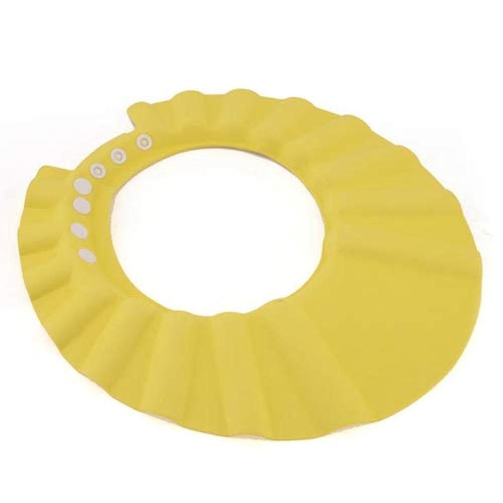 遠足湿原インフルエンザシャンプーハット 子供 シャンプーキャップ 洗髪用帽子お風呂 サイズ 調整可能 防水帽