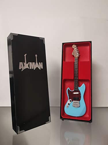 Kurt Cobain (Nirvana): Fender Mustang – Réplica de guitarra en miniatura