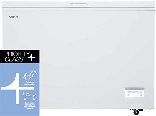 Sauber - Congelador Horizontal SERIE 5-316H - Eficiencia energética: A+ - Ancho: 112 cm - 316 litros - Color Blanco