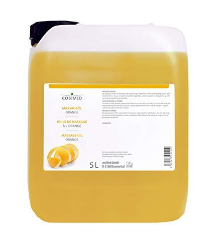 cosiMed Massageöl Orange, Massage Öl, Wellness, Therapie, 5L Kanister