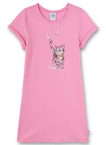 Sanetta Mädchen Sleepshirt Nachthemd, Rosa (rosa 3813), 98 (Herstellergröße:098)
