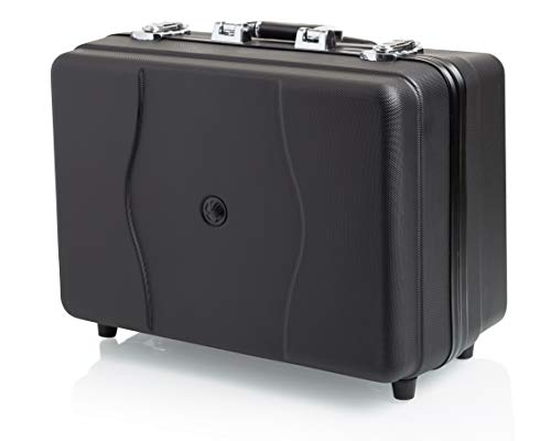 Slappa Accessories 600 Series Hard Body CD Case with Retractable Pull Handle and Wheels; Holds up to 600 Discs (SL-60001)