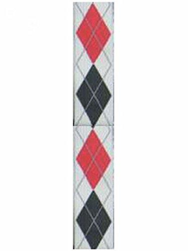 Armardi a Bretelles à carreaux noir rouge blanc