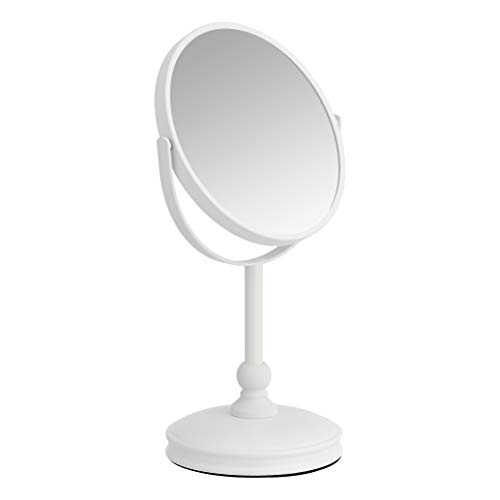 Amazon Basics Vanity Mirror, Blanco, 18.31332.5 cm