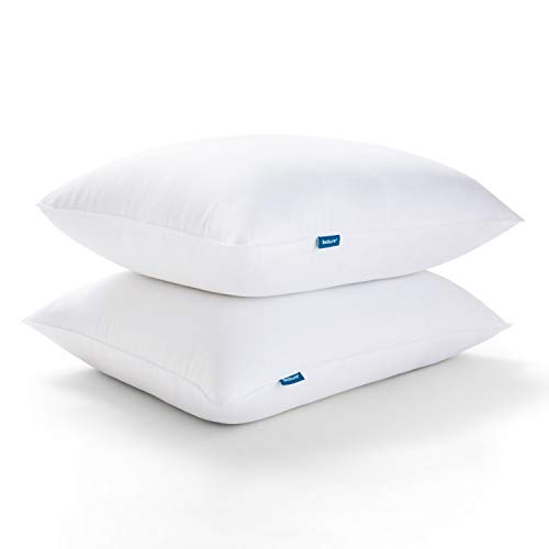 Bedsure Standard Pillows for Sleeping, Bed Pillows Hotel Quality, Soft Down Alternative Pillows Set of 2, Hypoallergenic Pillow for Side and Back Sleeper (Standard, 20x26 inches, 2 Pack)