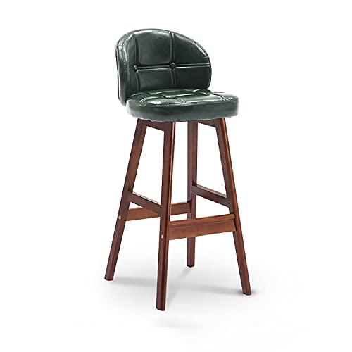 N\C Taburete de bar moderno, taburetes de barra de altura de la PU de cuero casero de la cocina taburetes hidráulicos de la silla del comedor sillas de la barra