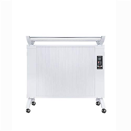 New ZMXZMQ Electric Radiator, Far Infrared Panel Heater, with Castors Or Wall Mountable Heater, Slim...