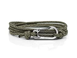 Titanium Carabiner 3mm Rope Adjustable - One Size Fits All Handmade in the UK