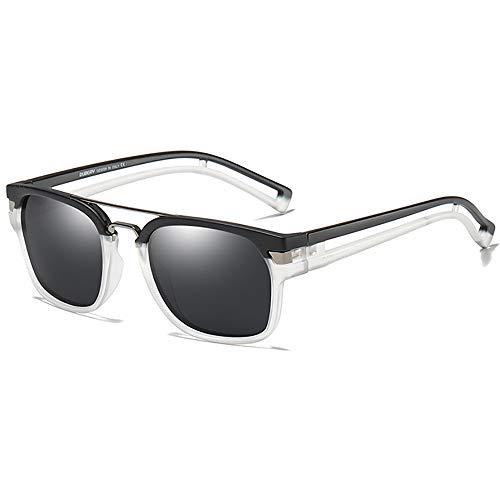SHEEN KELLY polarisierte quadratische Sonnenbrille für Männer Frauen Retro Pilot Sonnenbrille Tony Stark Sonnenbrille UV400 Sonnenbrille Neymar Sonnenbrille