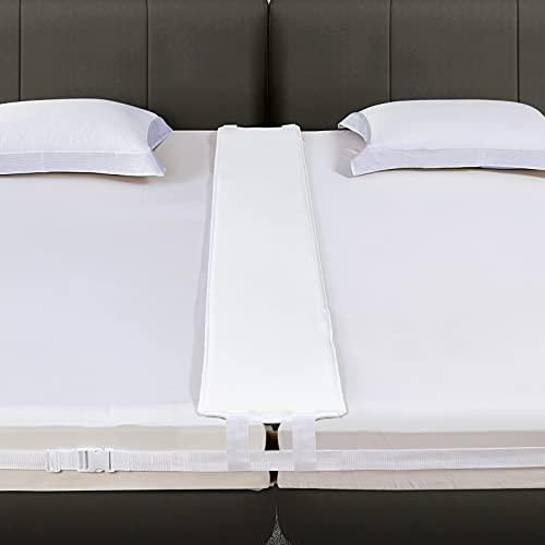 VIVILINEN Unisci materassi (Bed Bridge) Kit - Unisci materassi Singoli in Matrimoniale - Connettore a Due Letti Connettore per Materasso per Ospiti e riunioni di Famiglia