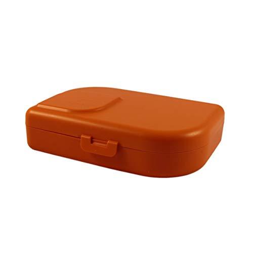 ajaa! Bio BROTBOX - Lunch-Box aus nachwachsenden Rohstoffen ohne Melamin, ohne Weichmacher wie BPA, plastikfrei