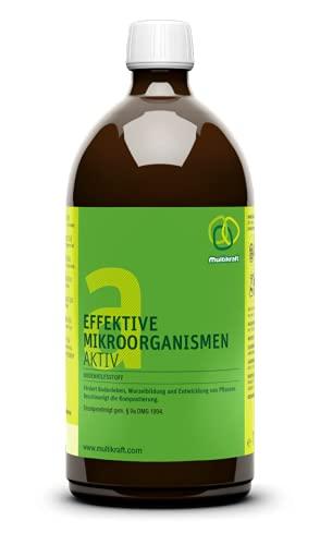 Effektive Mikroorganismen Aktiv (EM-Aktiv), Bodenhilfsstoff - Dünger 2 X 1 l von Multikraft