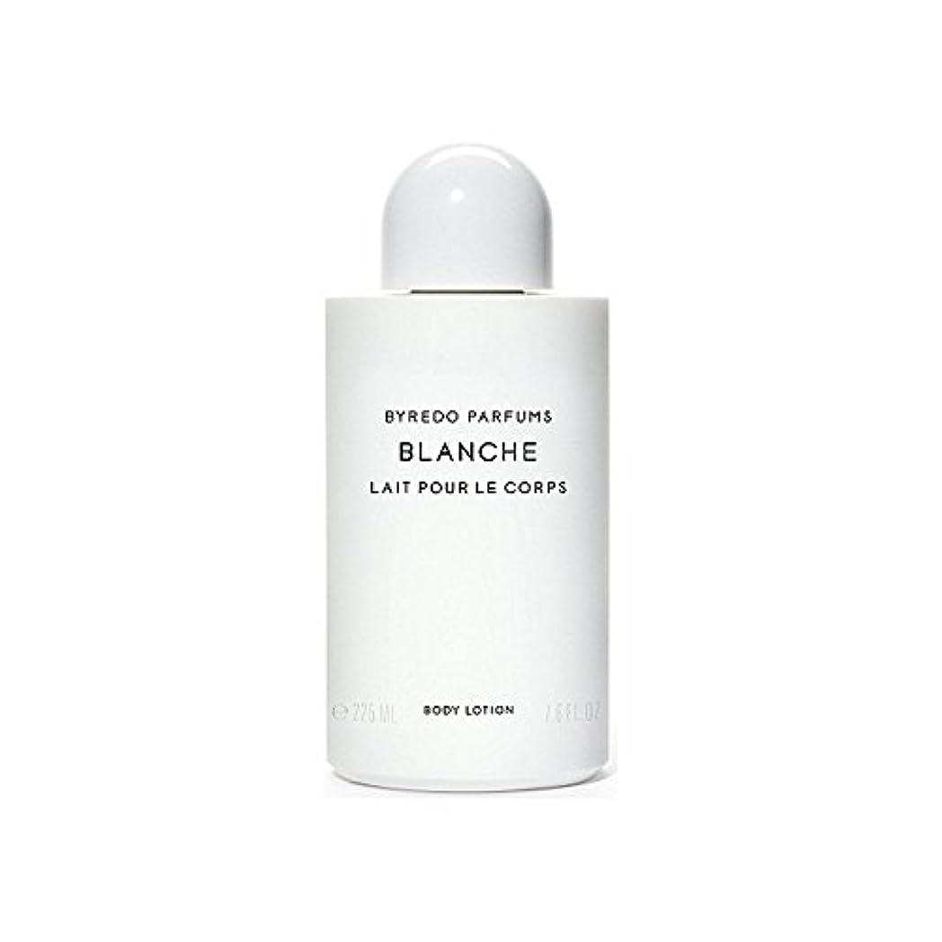 排泄する学校戸棚ブランシュボディローション225ミリリットル x4 - Byredo Blanche Body Lotion 225ml (Pack of 4) [並行輸入品]