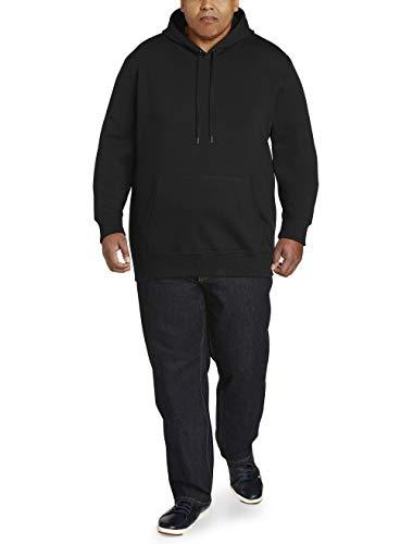 Amazon Essentials Men's Big & Tall Hooded Fleece Sweatshirt fit by DXL