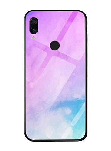 Oihxse per Cover Xiaomi Mi 5x/A1,9H Trasparente Custodia Protettiva in Vetro Temperato+UltraSottile Cornice Paraurti in TPU Silicone Morbido AntiGraffio Resistente Xiaomi Mi 5x/A1 Cover (A14)