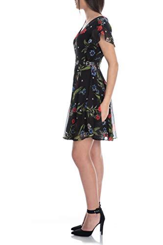 Guess Vera Dress Vestito, Multicolore (Casual Dots And Flow P98t), Small (Taglia Produttore:S) Donna