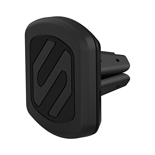 SCOSCHE MAGVM2B MagicMount Magnetic Vent Mount Holder for Vehicles In Frustration Free Packaging, Black