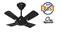 Crompton Aura Prime Anti DUST 600 MM Onyx 4 Blades Ceiling Fan,Crompton Greaves Consumer Electricals Limited,Aura Prime Anti Dust 600Mm Onix