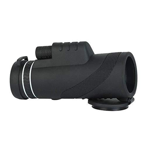 Floridivy Nachtkijker Telescope Monocular met Phone telescoop, telefoon monoculaire lens, telefoon-adapter en Statief voor Bird Watching Travel Concert