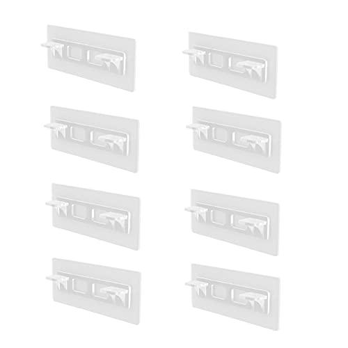 DRXX pasadores divididos, Soporte para repisas, pasadores para repisas, Soporte para repisas niqueladas, para gabinete, Muebles, Armario, Estante, Soporte, Armario, Oficina