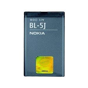 batteria per Nokia BL-5J 5230, 5800 XpressMusic, N900 Li-ion 1320 mAh